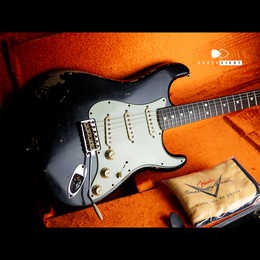 "FENDER CUSTOM SHOP Michael Landau Signature 1968 Relic Stratocaster ""Black"" 2013's"