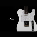 "Black Cloud Guitars Δ-Black Smoker ""Matte White"""