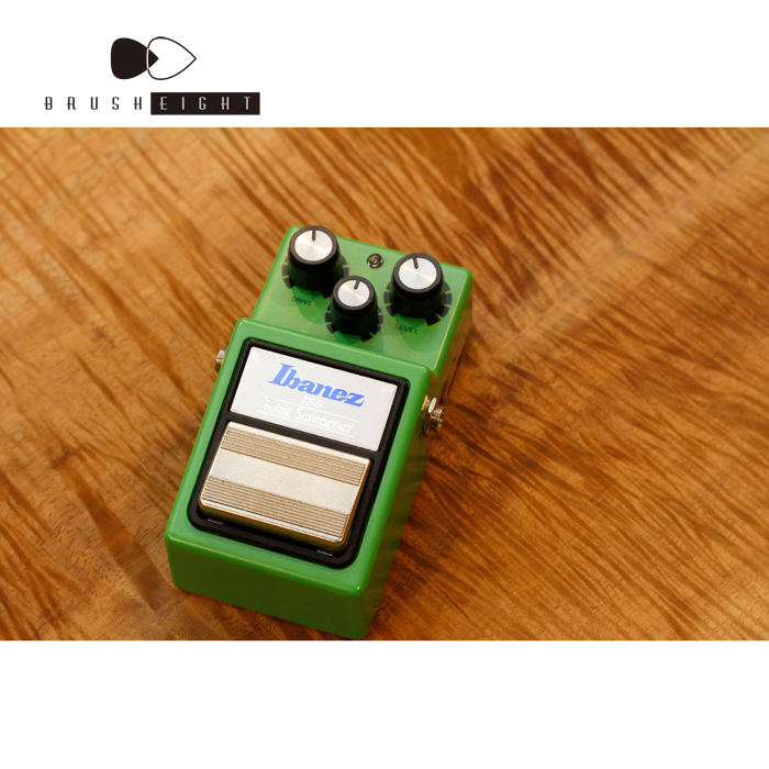 【レンタルエフェクター】banez TS-9 Tube Screamer  LA STYLE   Mod by BRUSH EIGHT