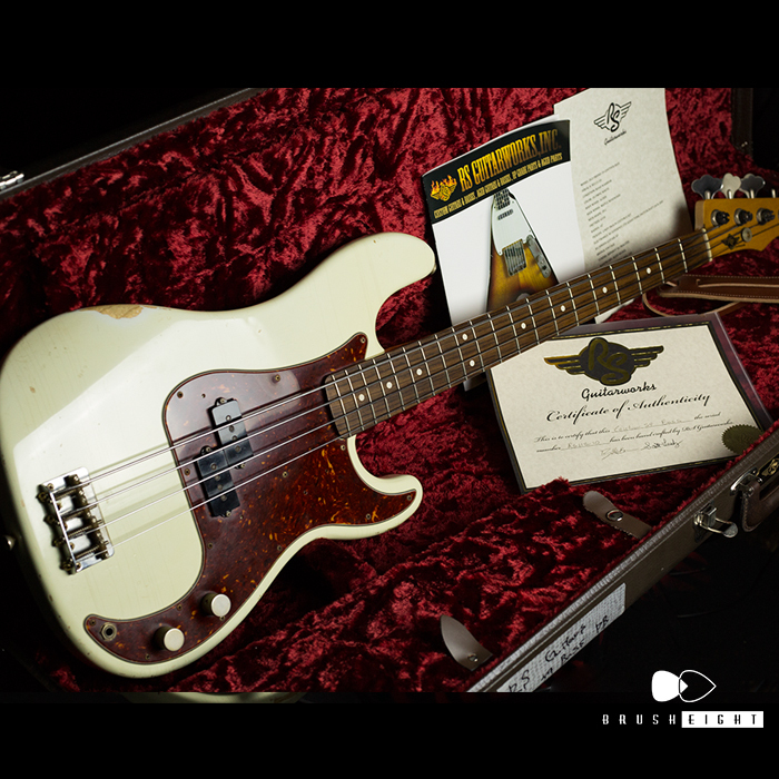 "【SOLD】RS Guitarwarks OLD FRIEND 59 CONTOUR BASS  ""Road Warrior"""