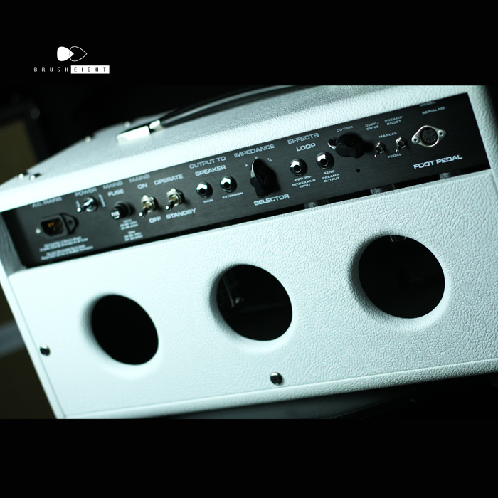 "【SOLD】Ceriatone Overtone FM50 White ""Brusheight Special"""