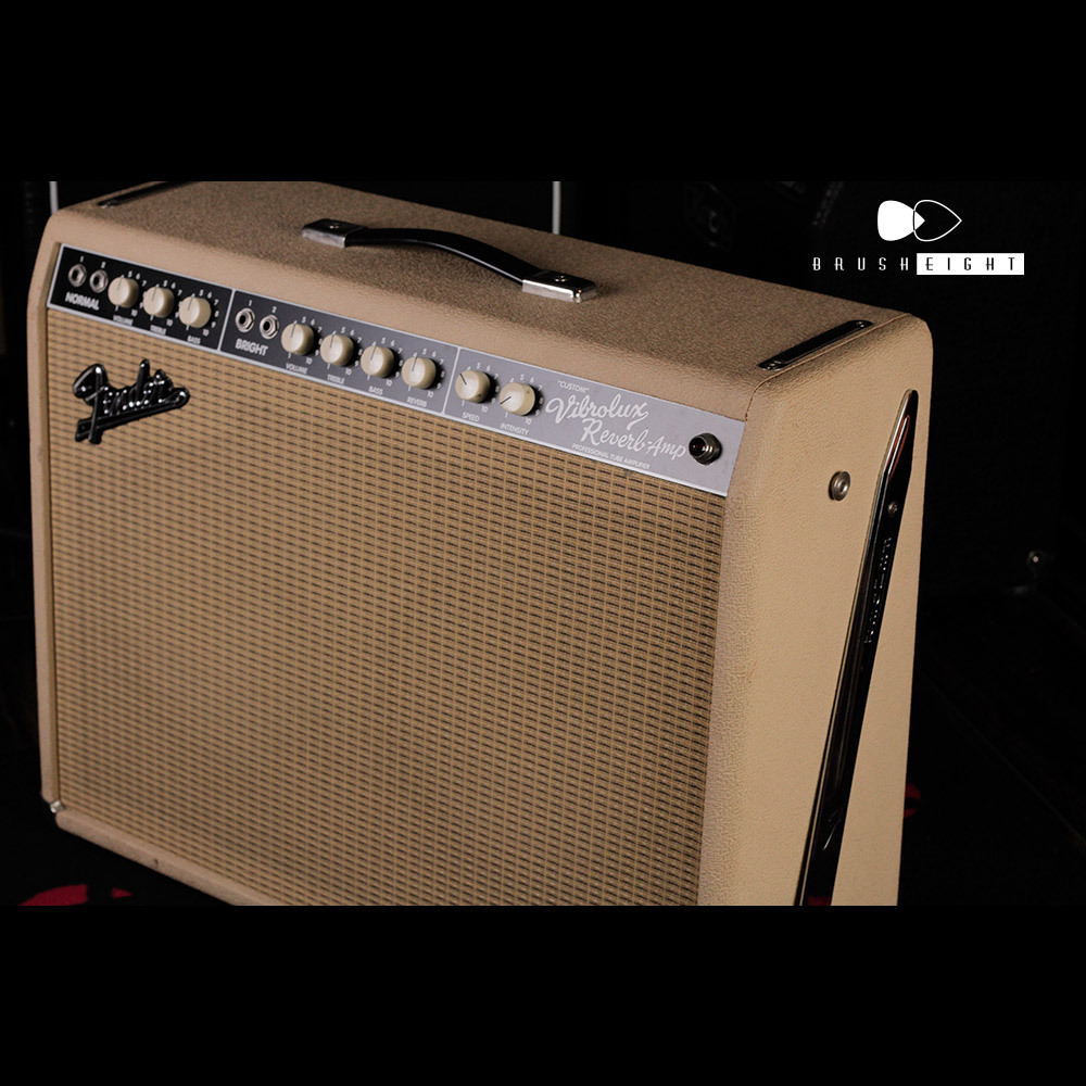 "【SOLD】Fender  Custom Vibrolux Reverb ""Cleam Tolex"""