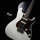 "【SOLD】Black Cloud Giuitar  Sigma SSH  Vintage White   ""Brush eight Custom"""