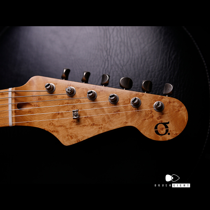 "【特価】Black Cloud Giuitar Aging Label Sigma ""White Blonde"" AAAA Bird's-eye #022"