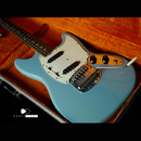 "【SOLD】Fender USA Mustang  Daphne Blue 1965's  ""Full original"""