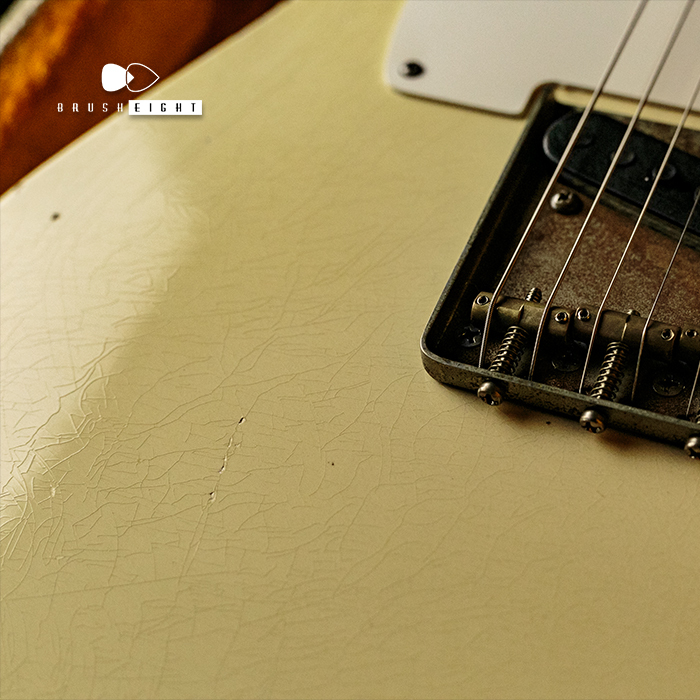 "【SOLD】TMG Guitars Gatton Blonde  ""Heavy Aging & Heavy Checking"" ""Like Robben"""