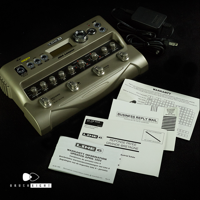 line 6 jm4 looper how to use