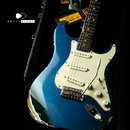 "【SOLD】LSL INSTRUMENTS Saticoy 22F ""Misa"" Custom Color Medium Aged Sherwood Green & Lake Placid Blue"
