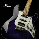 "【SOLD】James Tyler USA  Studio Elite HD ""Transparent Purple Finish""  bird's-eye Maple 2013's"