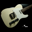 "【SOLD】TMG Guitars Gatton Blonde ""Heavy Checking"" Like Robben"