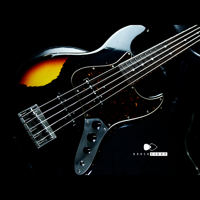 "【SOLD】Black Cloud Guitar Beta J5  Aging Label   ""Black "" Multilayer #035"