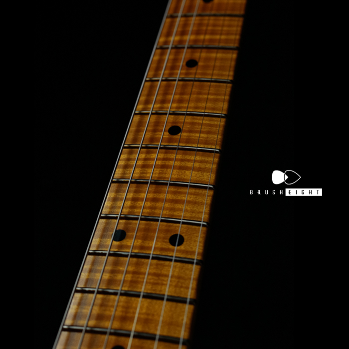"【SOLD】TMG Guitars Gatton  ""Mary Kays"" Light Aging & Hevy Checking"