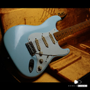 "【SOLD】TMG Guitars Dover SSS  ""Sonic Blue"""