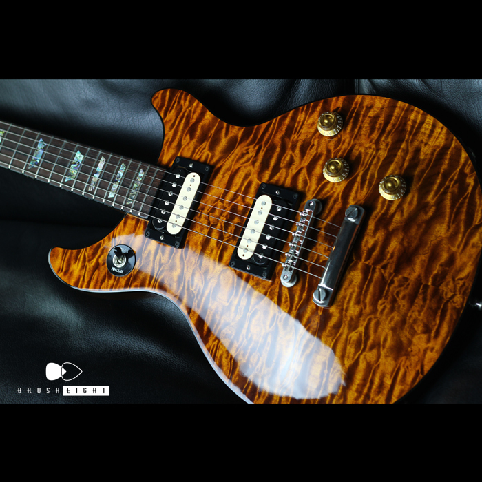 Brush eight / 【SOLD】1st Gibson CustomShop Tak Matsumoto DC QUILT